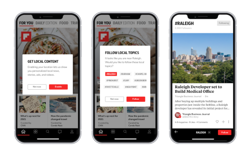 Now With 1,000 Cities, Flipboard Keeps You Connected