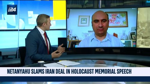 Netanyhau slams Iran deal in Holocaust memorial speech
