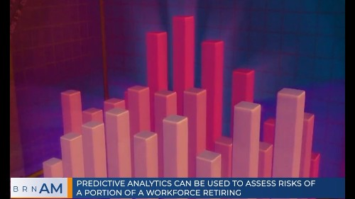 ICYMI: Predictive analytics can be used to assess risks of a portion of a workforce retiring