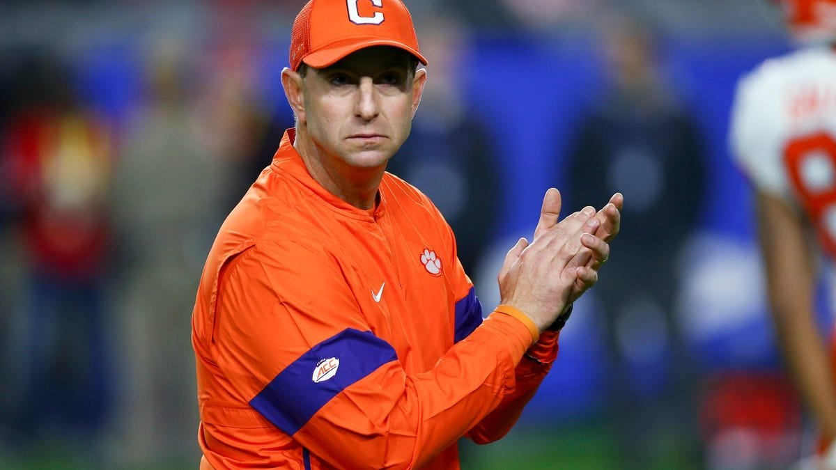 Dabo Swinney has to live in a world where his players get paid