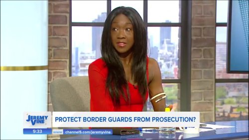 GB News presenter says if you rescue migrants 'you're supporting people trafficking'