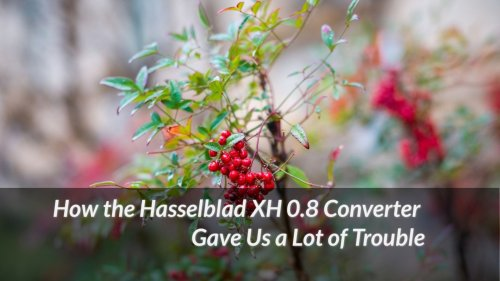 How the Hasselblad XH 0.8 Converter Gave Us a Lot of Trouble