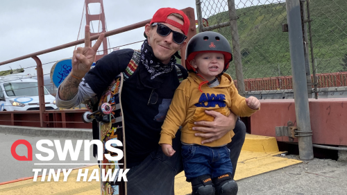This 3-year-old skateboarder from California is known to be more skilled than most adults
