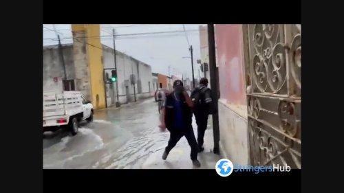 Mexico: Tropical Systems With Heavy Rainfall Causes Flooding In Mérida, Yucatán