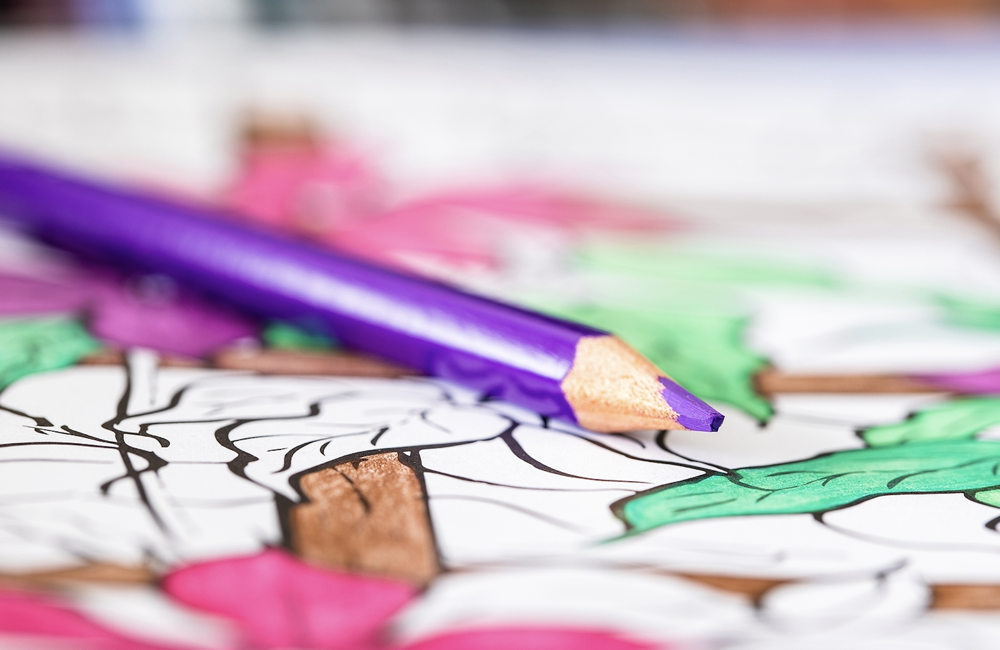 The power of adult coloring