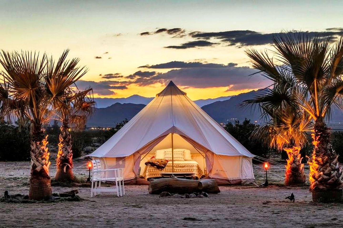 You Don't Need To Camp To Enjoy California's Nature, Try These Glamping Sites