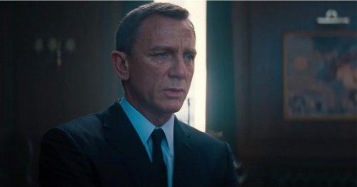 Daniel Craig says goodbye to James Bond in the most emotional way