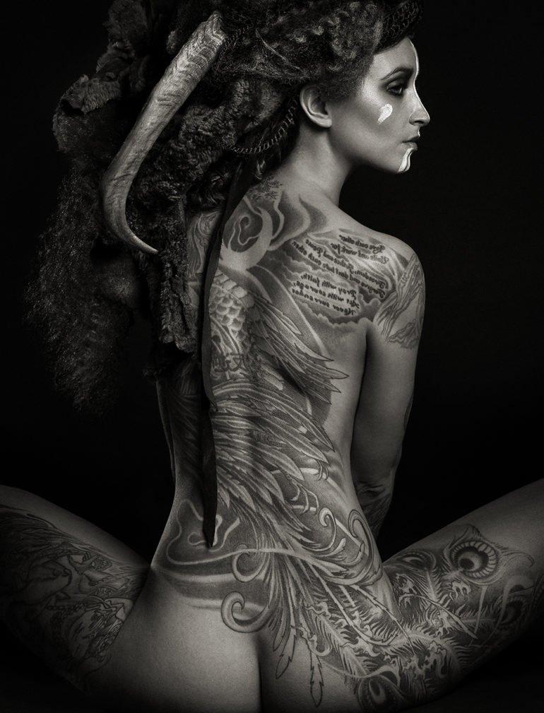 Tattooed People: Photographers Shoot Folks With Impressive Body Art