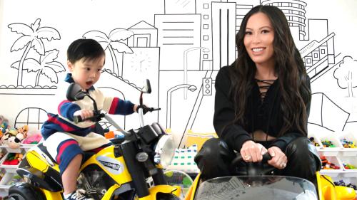 Inside Christine Chiu's Playroom for Baby G