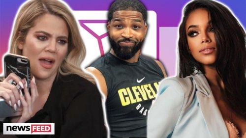 Khloe Kardashian DMed Tristan's Fling After New Cheating Allegations!