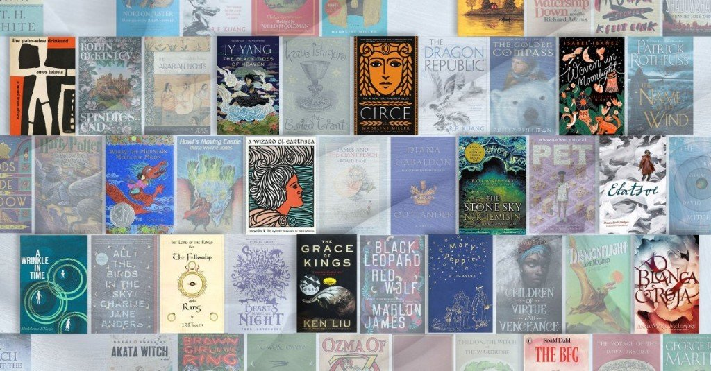 The 100 Best Fantasy Books of All Time