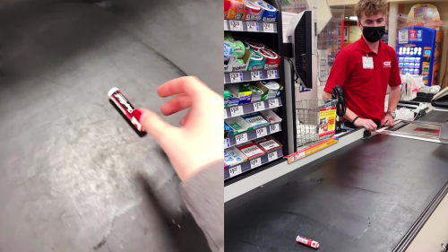 'Coworkers Play Around with Conveyor Belt after Clocking Out'