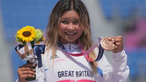 Sky Brown becomes Britain's youngest ever Olympic medallist