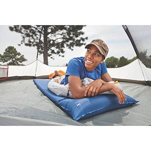 Save 46% on a self-inflating camping pad with pillow