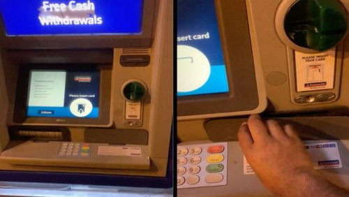 Watch Out For This Cash Machine Scam