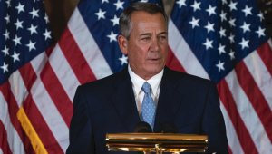 "Former House Speaker John Boehner Goes off Script in Audiobook and Tells Ted Cruz: 'Go F--- Yourself"""