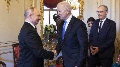 President Biden Concludes Summit With Russian President Vladimir Putin