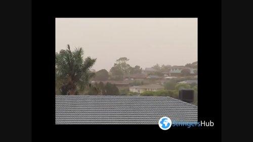 Australia: Dust Storms In Hallett Cove