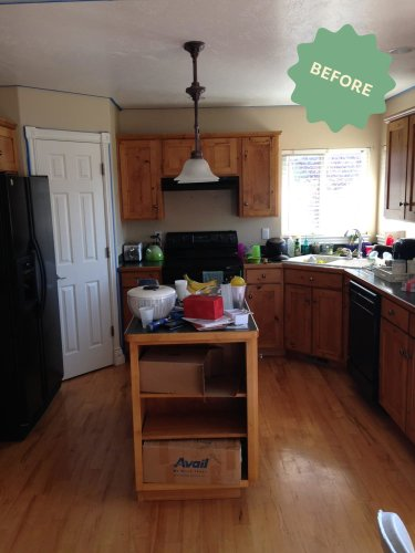 Renovation Diaries: A Dated '90s Kitchen