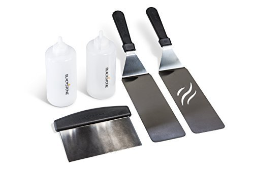 Flat top griddle accessory kit