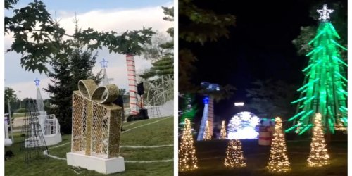 There Are Christmas Celebrations Happening Near Montreal Even Though It's July