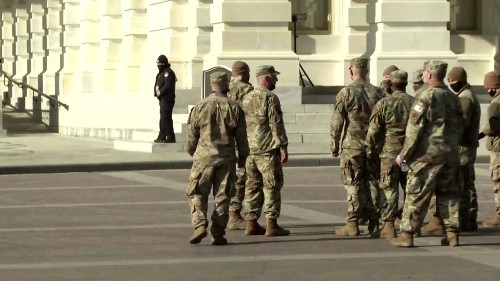 Up to 15,000 troops expected at inauguration