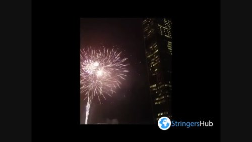 US: Fireworks Mark Lifting Of COVID Restrictions In New York
