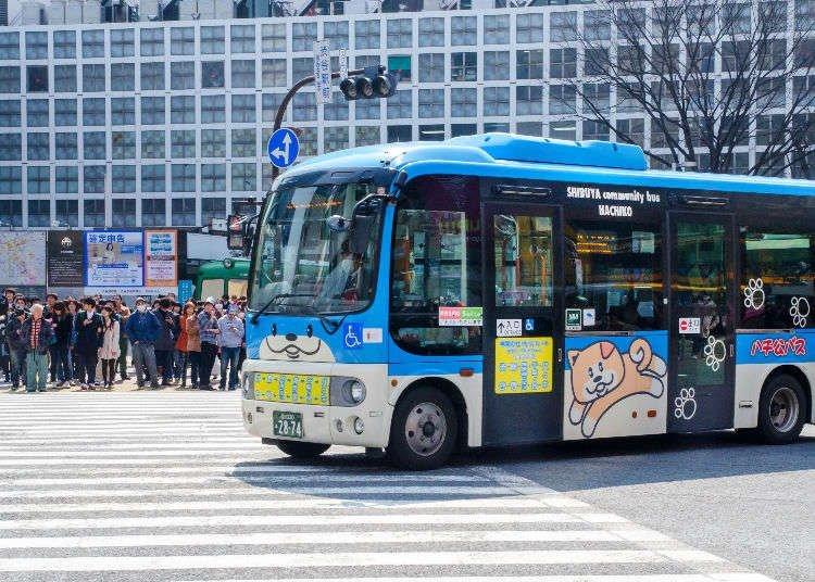The Wheels on Japan's Buses Will Get You Around