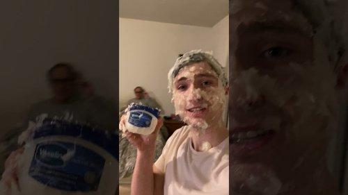 Kid Pranks Dad Covered in Vaseline