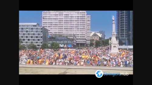 Spain: Thousands Turn Out For Right Rallies Against Possible Pardons For Catalan Leaders