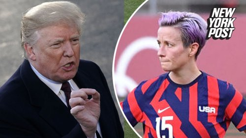Trump blasts women's soccer team as 'woke' after they don't win gold
