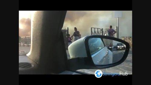 Italy: Wildfires Continue Raging In Ortona, Chieti, Abruzzo