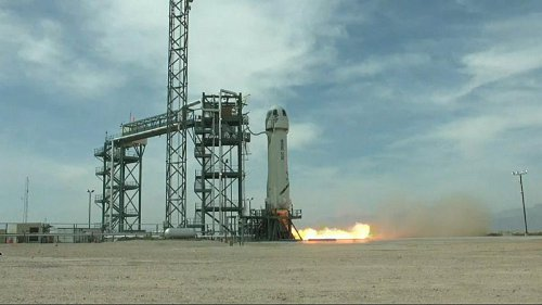 Blue Origin conducts test launch in Texas