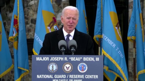 Biden bids Delaware emotional goodbye