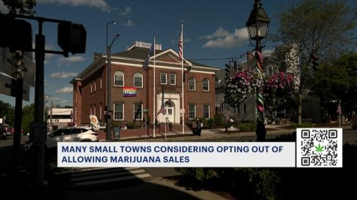 Some small CT towns consider opting out of allowing marijuana sales