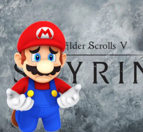 Someone Paid $600 For A Copy Of Skyrim At The $1 Million Super Mario 64 Auction