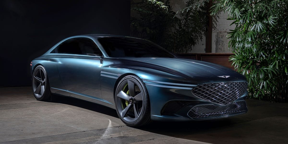 Genesis X Coupe Is the Luxury Brand's Most Gorgeous Concept Yet