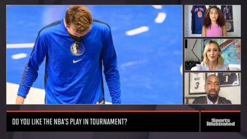 Luka Dončić Doesn't Quite Understand NBA's Postseason Play-In Tournament