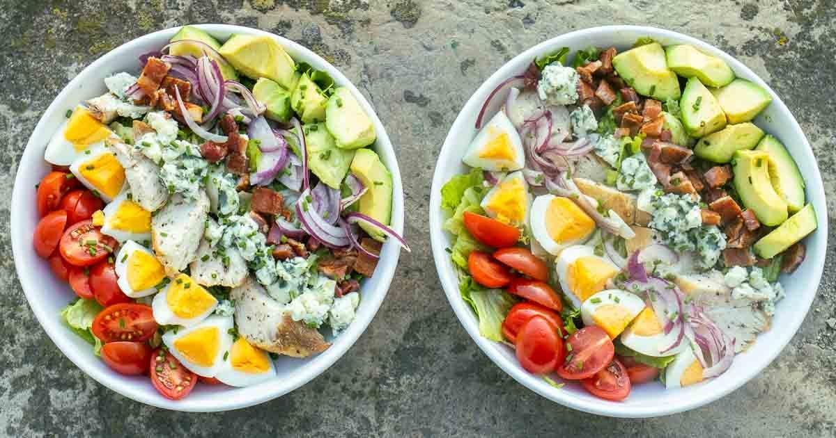 Make Restaurant Style Cobb Salad at Home