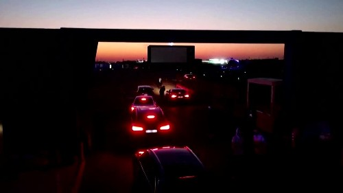 Drive-in movie theatre opens in Saudi Arabia