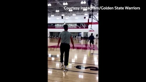 Steph Curry makes 105 3-pointers in a row