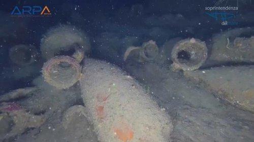 Ancient Roman vessel discovered off Sicilian coast