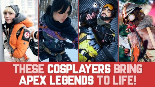 These COSPLAYERS bring APEX LEGENDS to life!