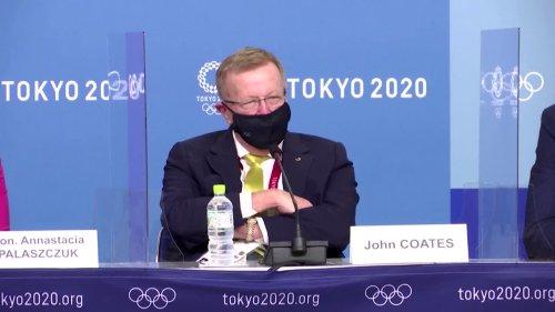 Olympics-Coates orders premier to opening ceremony