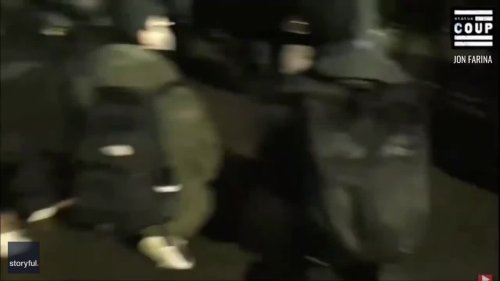 Police Fire Nonlethal Rounds, Pepper Spray on 4th Night of Protests in Brooklyn Center