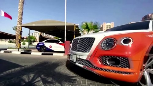 Dubai driving school teaches residents to drive luxury cars