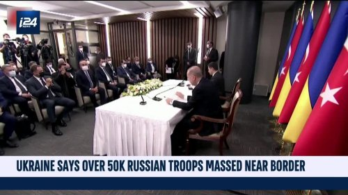 Ukraine says over 50K Russian troops massed near border