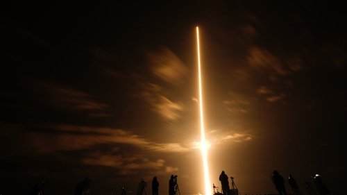 SpaceX Crew-2 Blasts off on Historic Flight to ISS