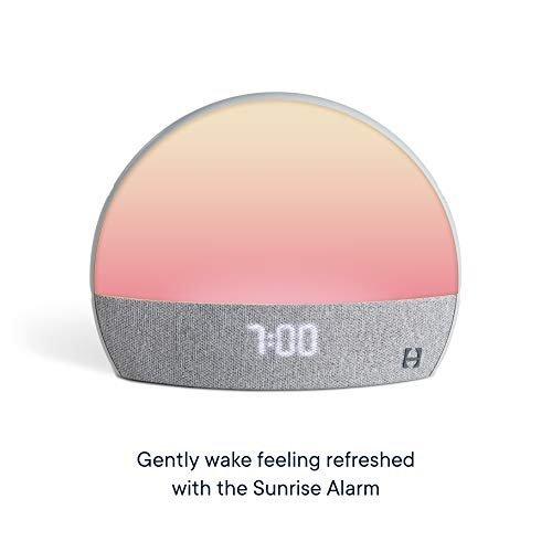 All-in-one sound machine, light and sunrise alarm clock