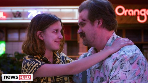 David Harbour WORRIED About Millie Bobby Brown & Talks Tight Bond
